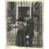 1923 Press Photo Eileen Percy Irish Actress Silent Film Brass Buttons