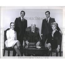 1969 Press Photo Dany Robin French Movie Actress Topaz Actors Director