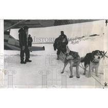 1958 Press Photo Collecting Ballots in the New Alaska - RRX85183