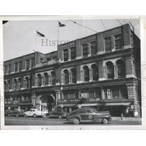1946 Press Photo Fires At Birmingham City Hall - RRX85201