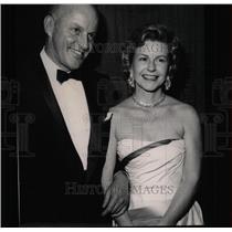1961 Press Photo Mr. & Mrs. Harry Combs