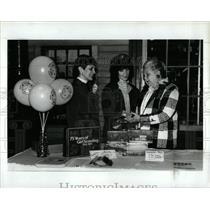 1987 Press Photo Girls Scouts History Barbara Cheney