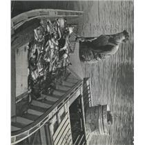 1940 Press Photo Denver City Park lake fishing catch - RRX95087