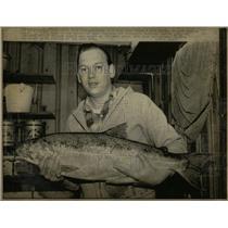 1972 Press Photo CHINOOK SALMON  MILE REP