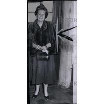 1951 Press Photo Mrs. Frederick S. Ford - RRX46307