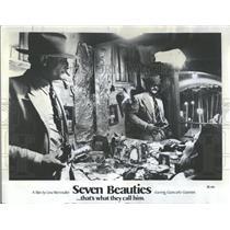 "1961 Press Photo Giancarlo Giannini ""Seven Beauties"""