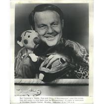 1973 Press Photo Burr Tilstrom Puppeteer - RSC96677