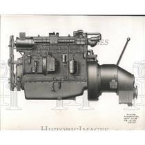 1947 Press Photo Buda Diesel Marine Engine - RRW53769
