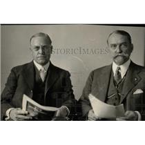 1927 Press Photo Judge Edwing B Parker Louis E. Pierson - RRX75755