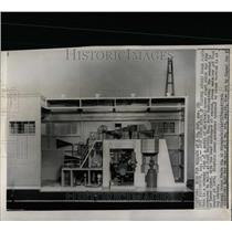 1958 Press Photo Fort Belvir VA Atomic Power Plant Mode - RRW92219
