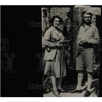 1929 Press Photo John Drinkwater, famous English poet - RRW96575