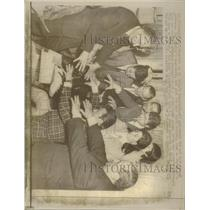 1969 Press Photo Magicians On Strike in Rome, Italy. - RRX94631