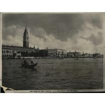 1972 Press Photo People Sailing in a Lake, Venice,Italy - RRX75911
