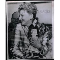 """1965 Press Photo Mary Martin in """"Hello Dolly"""" Japan - RRX47711"""