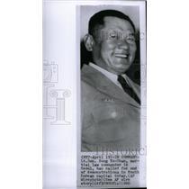 1960 Press Photo Song Yo Chan martial law commander - RRX46745