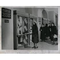 1954 Press Photo Self Service Store Moscow Red Square - RRX75825