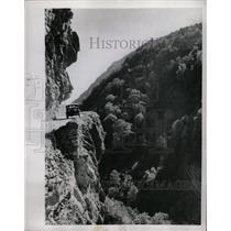 1953 Press Photo Mountain Road Russia - RRW26223