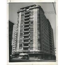 1946 Press Photo Latino American Building Boom Mexico - RRX89333
