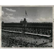 1954 Press Photo The National Palace Mexico City Square - RRX78025
