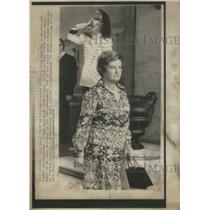 1976 Press Photo First Women Cabinet Minister Italian Tina Anselmi