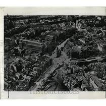 1963 Press Photo Birdseye View Center Amsterdam - RRX62675