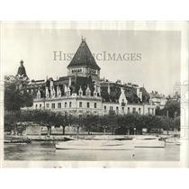 Press Photo Chateau Diouchy Lausanne Switzerland, - RRX81533