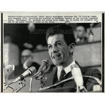 1972 Press Photo Enrico Berlinguer Italian Politician - RRW89571