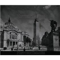 1962 Press Photo Ancient Capital Mexico City Palace