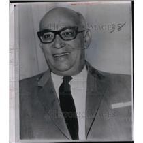 1963 Press Photo Venezuelan Sen. Raul Leoni - RRX47673
