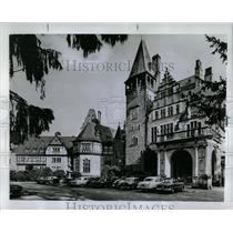 1969 Press Photo Historic Castle Hotels Lodge Germany