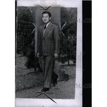 1954 Press Photo Japanese Crown Prince Akihito - RRW73589