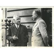 1933 Press Photo Professor Raymond Roosevelt adviser - RRX82973