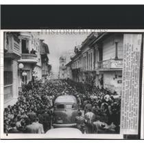 1953 Press Photo Lt.Gen.Gustavo took over Presidency. - RRX82537