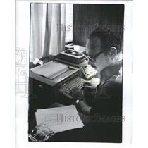 1975 Press Photo William Rose Manager Pegasus Company - RRW38287