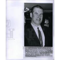 1963 Press Photo Gerhard Schroeder German Minister - RRX35483