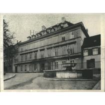 1929 Press Photo House Cherry Garden Basle Switzerland - RRX81023