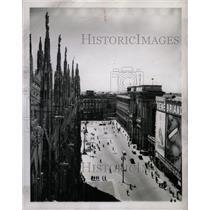1948 Press Photo Milan Italy Duomo Square - RRX70835