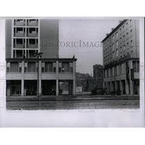1963 Press Photo Dresden, East Germany Stalin Buildings