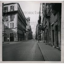 1953 Press Photo Via Del Corso Rome Easter Monday - RRX70419