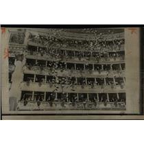 1965 Press Photo La Scala opera house in Milan, Italy. - RRX76069