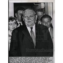 1958 Press Photo Vice Chancellor Ludwig Erhard - RRW21291