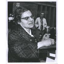 1965 Press Photo Wayne University Vietnam Helga Herz