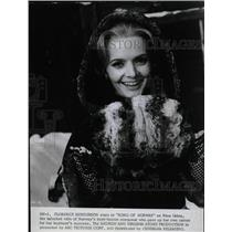 1970 Press Photo Actress Florence Henderson Song Of Nor - RRW18639