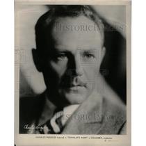 1931 Press Photo Charlie Ruggles American Comic Actor - RRX73779