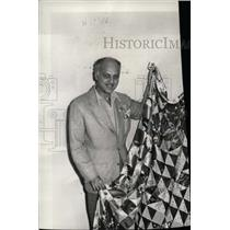 1944 Press Photo Frenchmans Creek Film Quilt Costume - RRW99677