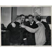 1938 Press Photo Barbers Shops - RRW02013
