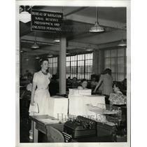 1941 Press Photo Navigation Bureau Reserve Division - RRX73993