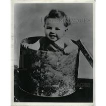 1940 Press Photo Mickey Rooney Actor Baby Picture - RRX70239