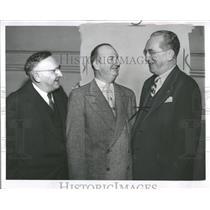 1955 Press Photo Frank G Mitzel ABC President