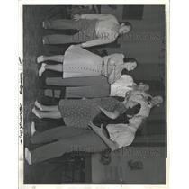 1940 Press Photo Bartered Bride Duey Thelma Votipka - RRX94999